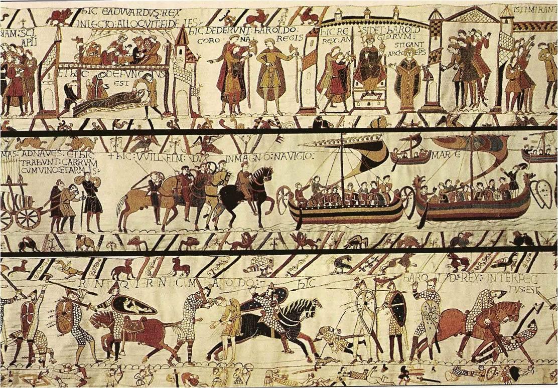Resultado de imagen para Tapiz de Bayeux