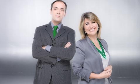 Bruno Cardeñosa y Silvia Casasola