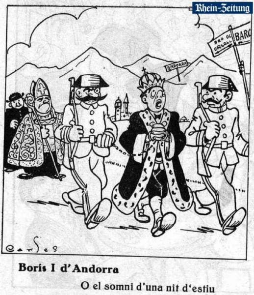 El día que la Guardia Civil invadió Andorra