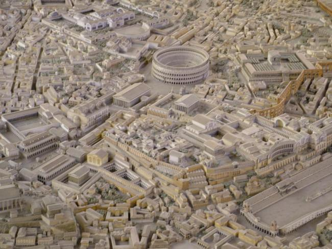 Maqueta Roma