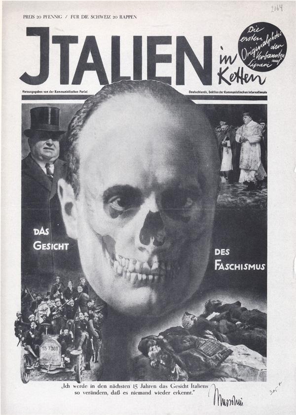 La cara del Fascismo (Mussolini)