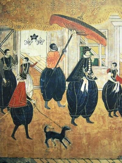 Esclavos negros y comerciantes europeos vistos por los artistas de la época