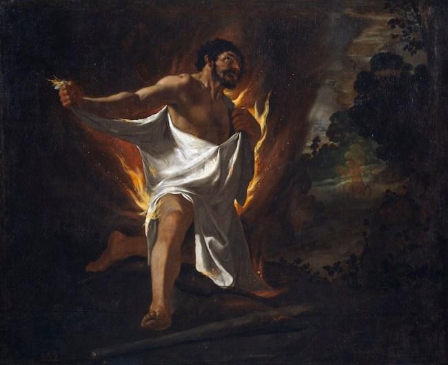 Muerte de Hércules (1634) - Fco. de Zurbarán
