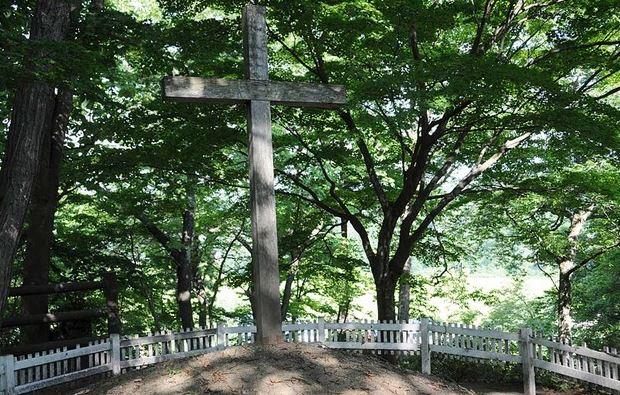 Tumba de Jesús en Aomori