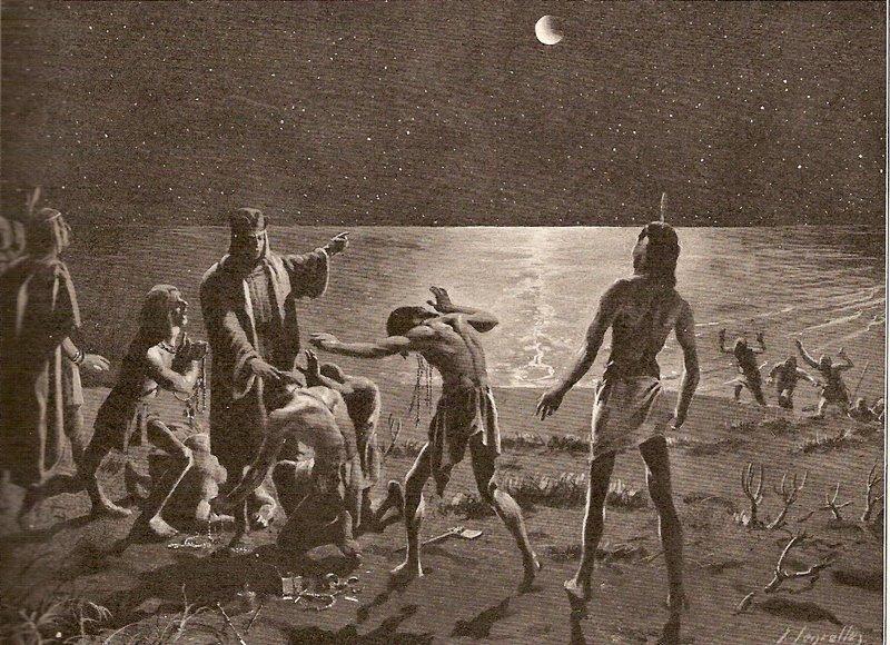 Eclipse lunar Colón