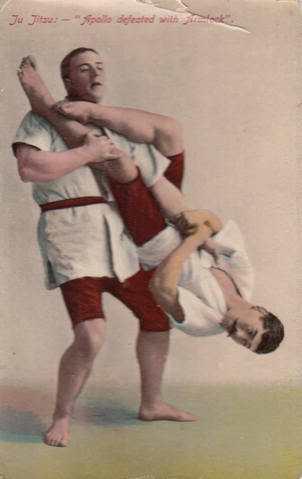 Las demostraciones de jiu-jitsu hacían furor en la Europa de la Belle Époque