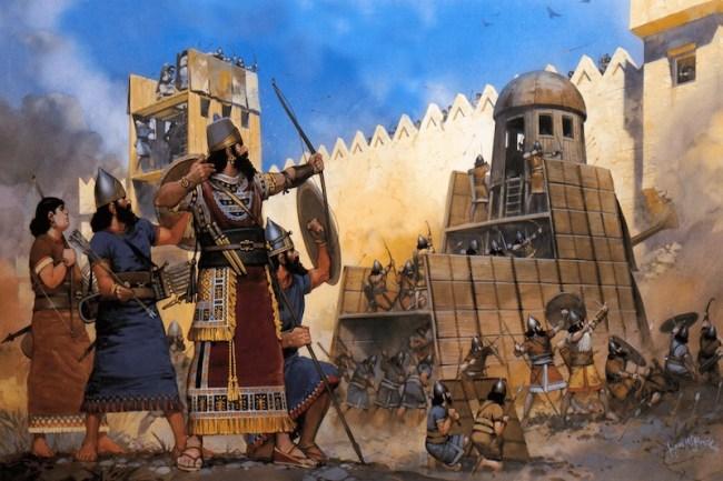 Guerreros asirios