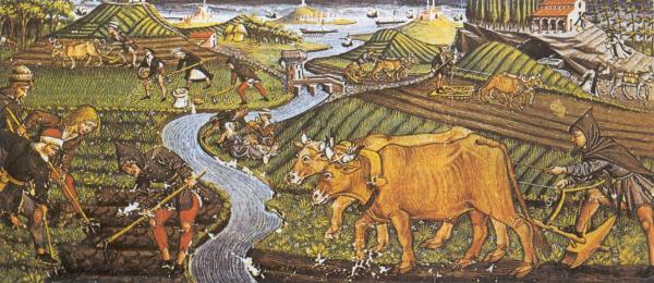 campesinos-medievales