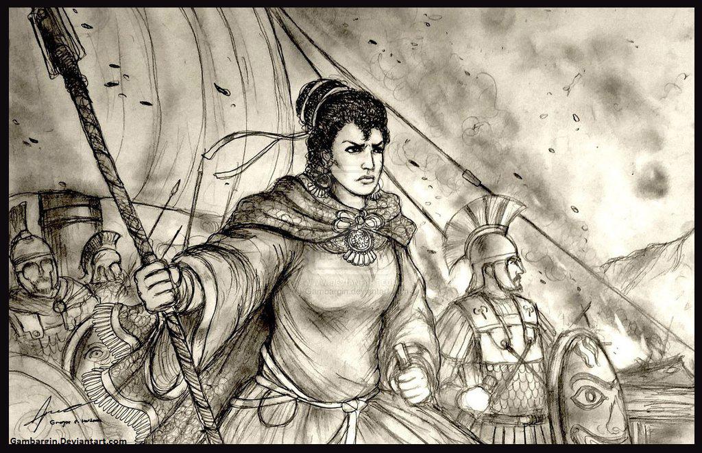 Hydna y Artemisa, las protagonistas de la batalla de Salamina