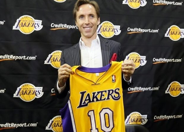 Nash 10 Lakers