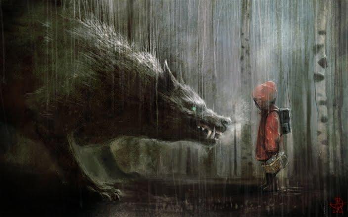 O Misterioso Lobo Vermelho (2/6)