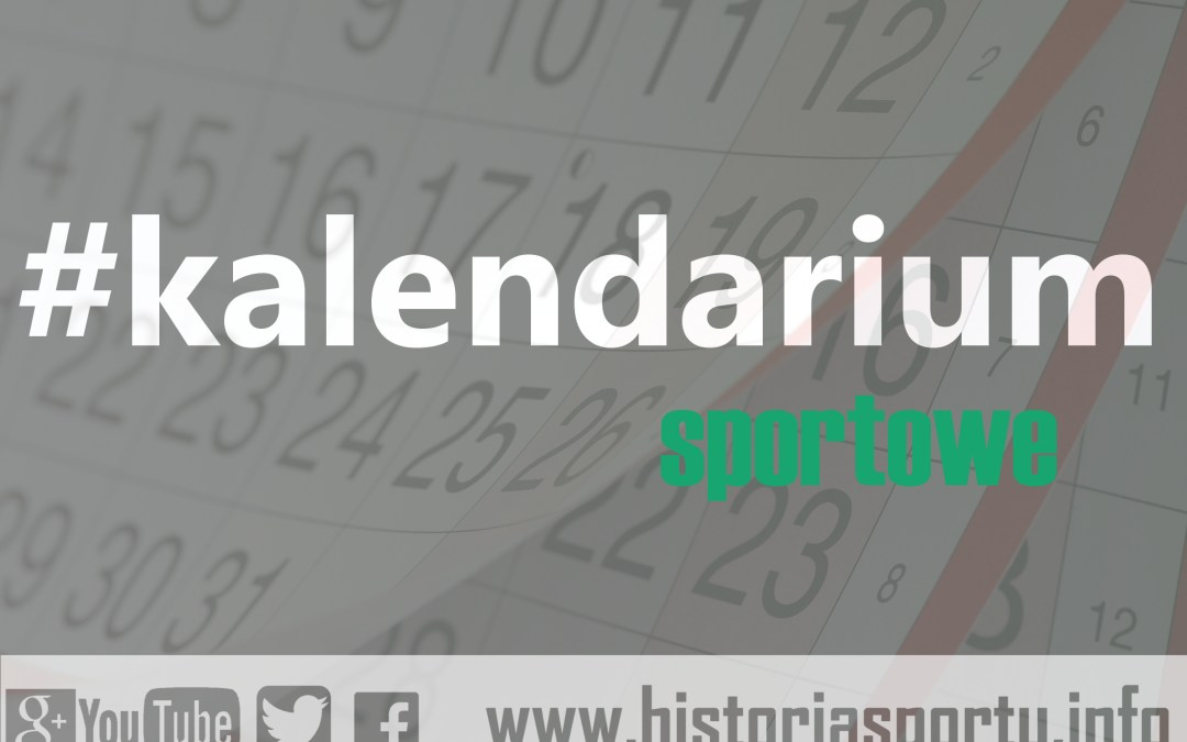 Kalendarium sportowe (11-17 lipca)
