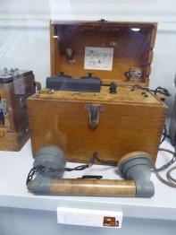 teléfono de campaña de fabricación española. 1936-39