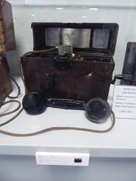 Teléfono de campaña alemán Mix-Genest. Legión Condor 1936-39