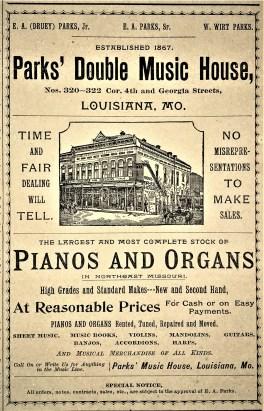 1893 advertisement in Louisiana Press Journal