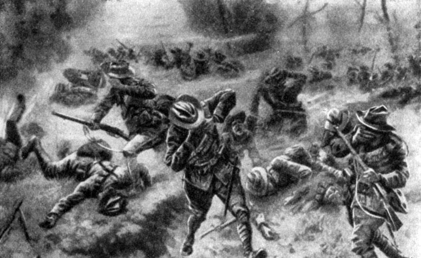 Картинки по запросу 1 мировая война газовая атака