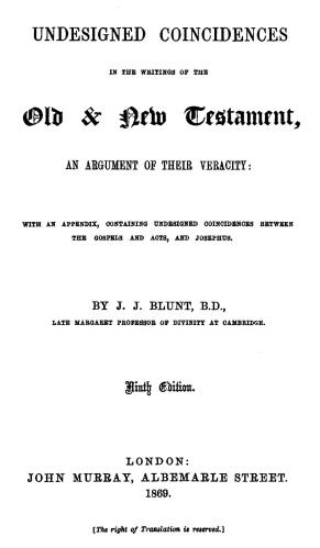 Blunt Title Page