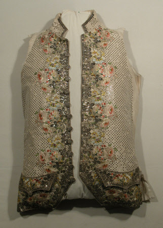 1770 Court Waistcoat, Snowshill Collection
