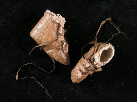 Pandora shoes, 18th c.