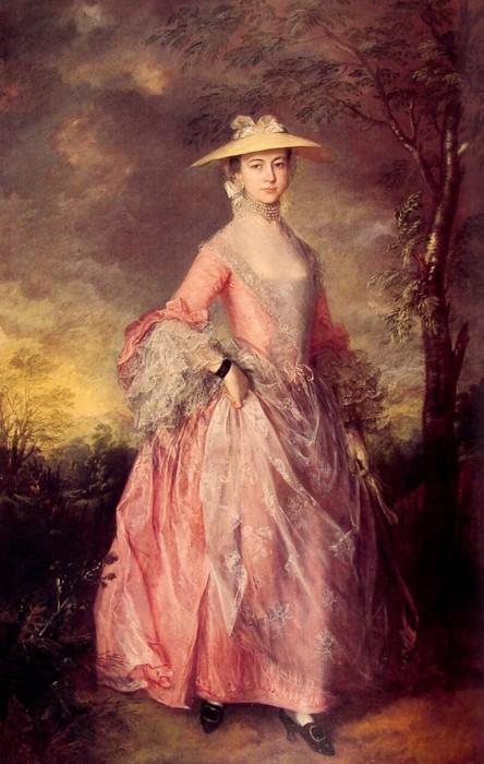Mary, Contessa of Howe, Thomas Gainsborough, 1763-4