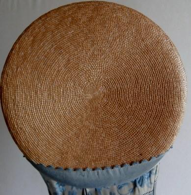 Crown view, poke bonnet, 1815 - 20