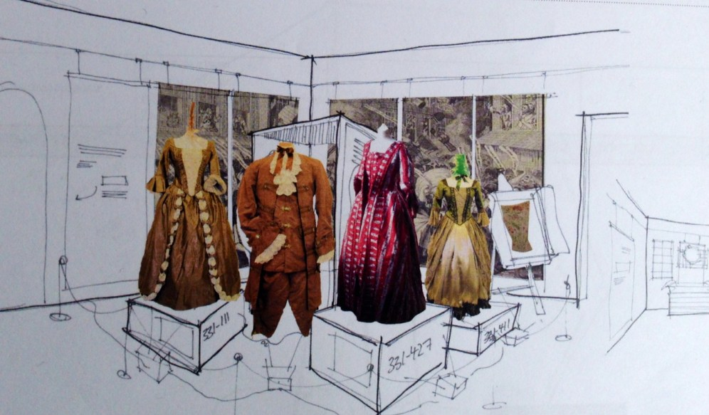 20/20 design for CPW Display Room at Berrington Hall opening March 2014