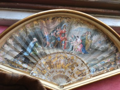 18th century, Queen Hortense Fan at Berrington Hall
