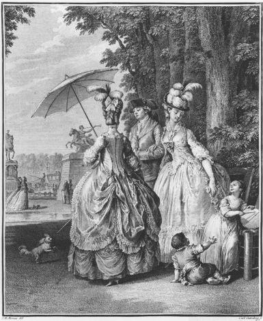 Jean-Michel Moreau, Le Rendez-vous pour Marly, 1777