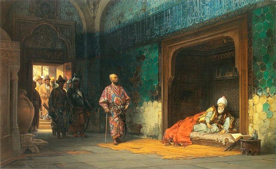 bayezid captive under timur