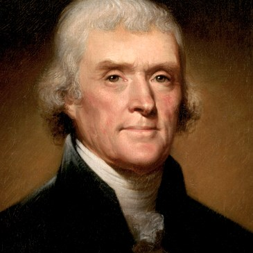 What are five interesting facts about Thomas Jefferson?