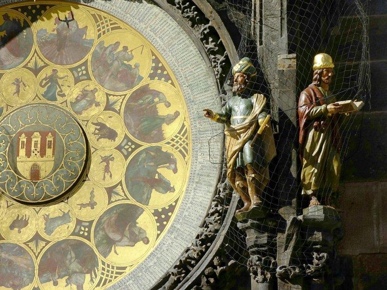 知名的布拉格天文鐘