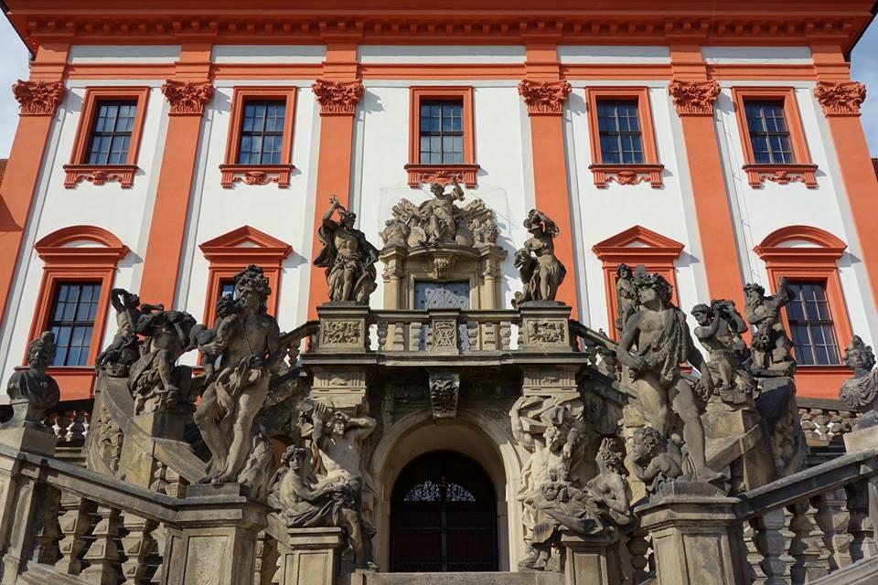 布拉格特洛伊宮