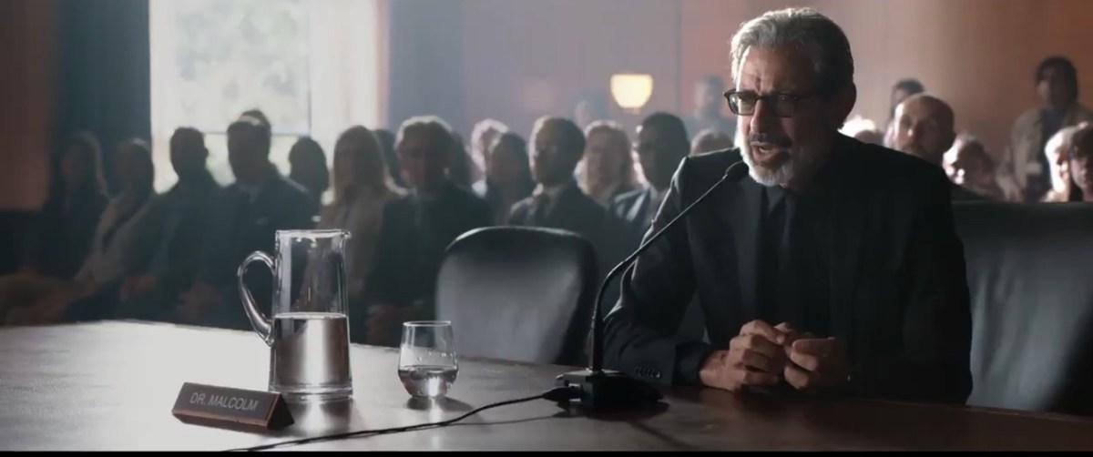 Jeff Goldblum in Jurassic World: Fallen Kingdom (2018)