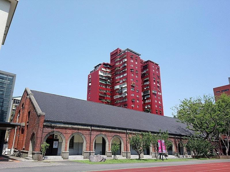 總督府第二師範學校大禮堂。引用自寺人孟子(CC BY-SA 4.0)