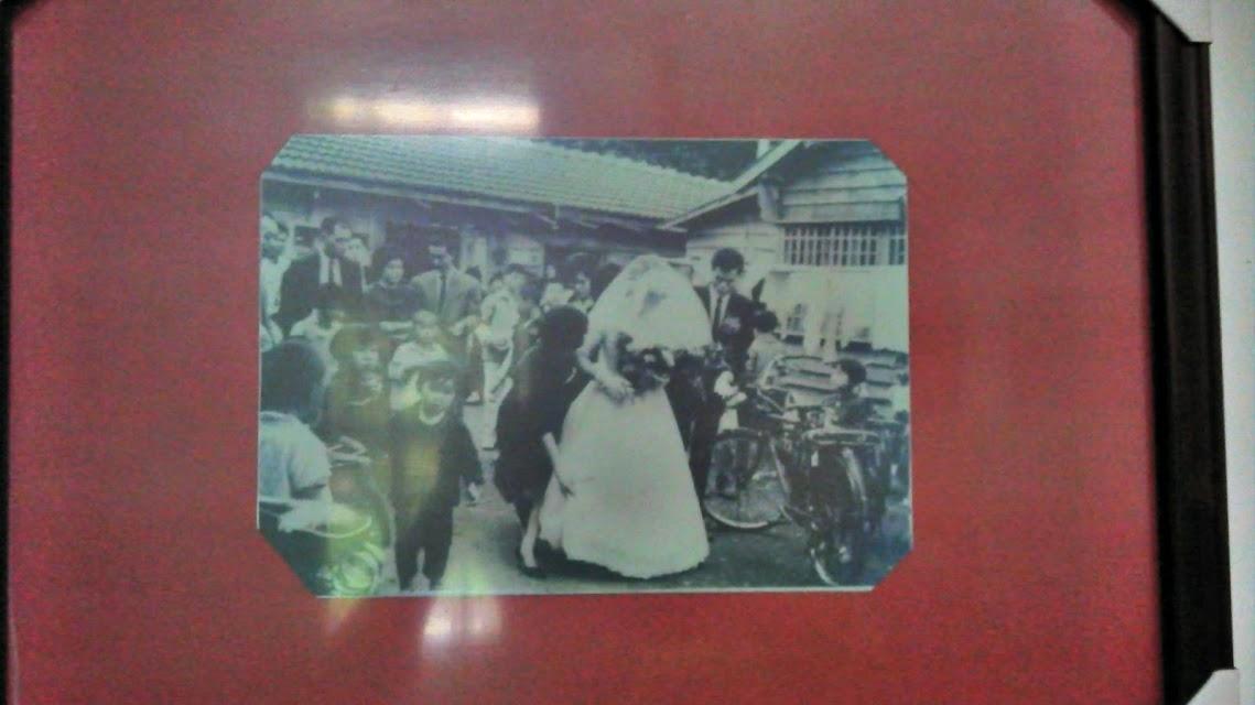 豐田文史館的老照片,日人移走後此處為客家族群居住地