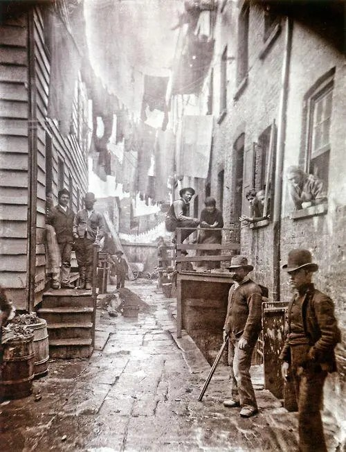 Mulberry Street, New York, 1888.