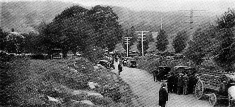 Easton 1908 hill climb