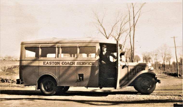 Easton HSE 1935 bus center & morehouse
