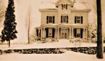 131 Sport Hill Road. Built 1875 Edwin Godfrey. Later Tersana Farm owned by Samuel P. Senior