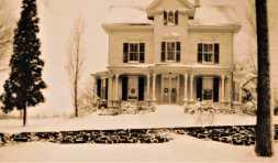 131 Sport Hill Road. Built 1875 Edwin Godfrey. Later Tersana Farm owned by Samuel P. Senior