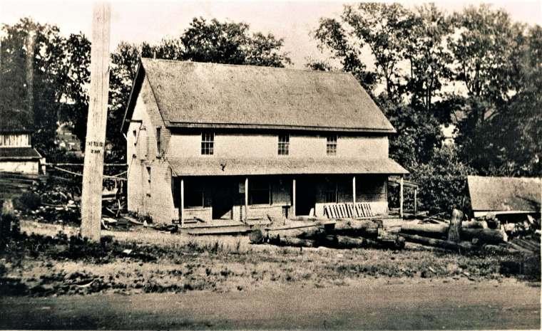Easton HSE Plattsville sawmill 1910