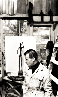 Artist & Sculptor Frederick Charles Shrady lived at 190 Maple Road from 1959 until his death in 1990.