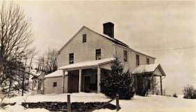 1946. Bradley Hubbell House on Black Rock Turnpike dates to early 1800's
