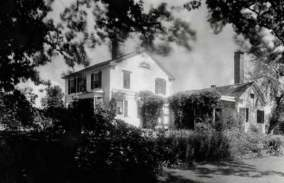 1934 photo of Ida Tarbell home on Valley Road.