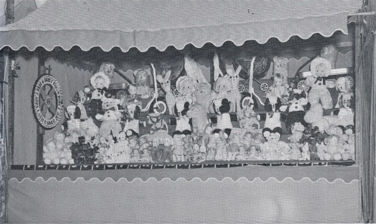 Easton HSE 1940s Fireman Carnival Booth (2)