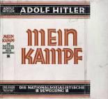 Dust jacket of Mein Kampf (1926–1927).