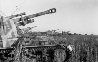 Wespes at the Battle of Kursk.