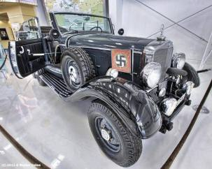 Possible former Hitler Mercedes. Location unknown or further information.