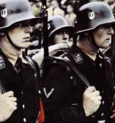 Parade dress soldaten.