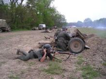 Re-enactors of the 2nd Panzer Division located in the United States.